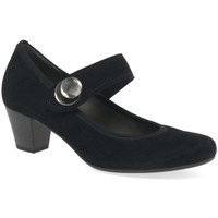 Shoes Women Heels Gabor Nola Womens Mary Jane Court Shoes black