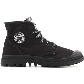 Shoes Men Hi top trainers Palladium Pampa Hi 72352-082-M black