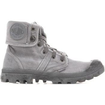 Shoes Men Hi top trainers Palladium Baggy Titanium High Rise 02478-066-M grey