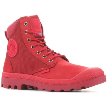 Shoes Mid boots Palladium Pampa Sport Cuff WPN 73234-653 red