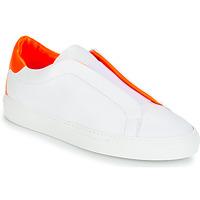 Shoes Women Low top trainers KLOM KISS White / Orange