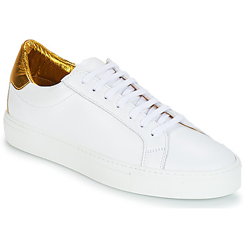 Shoes Women Low top trainers KLOM KEEP White / Gold