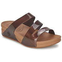Shoes Women Mules FitFlop SUPERJELLY™ TWIST Bronze