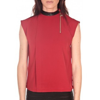 Clothing Women Tops / Sleeveless T-shirts Tcqb Top Sirene Rouge Red