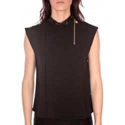 Clothing Women Tops / Sleeveless T-shirts Tcqb Top Sirene Noir Black