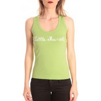 Clothing Women Tops / Sleeveless T-shirts Little Marcel débardeur detroit corde greenery Green