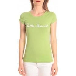 Clothing Women short-sleeved t-shirts Little Marcel t-shirt tokyo corde vert Green