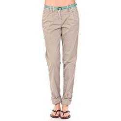Clothing Women Trousers Tom Tailor Pantalon Ceinture gris Grey