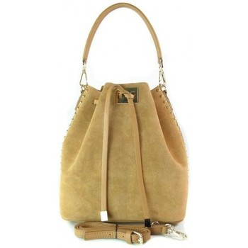 Bags Women Shoulder bags Vera Pelle Camel Yellow