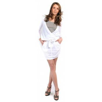 Clothing Women Skirts Sud Express JUPE COURTE JIRONI BLANC White