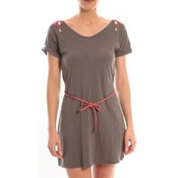 Clothing Women Short Dresses Blune Robe Larme de Joie LJ-RF01E13 Grise Grey