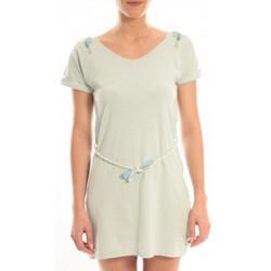 Clothing Women Short Dresses Blune Robe Larme de Joie LJ-RF01E13 Verte Green