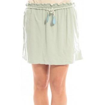 Clothing Women Skirts Blune Jupe Lendemain de Fête JP-01E13 Verte Green