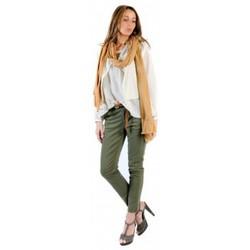 Clothing Women Tops / Blouses American Vintage BLOUSE MIL144E11 NATUREL Beige