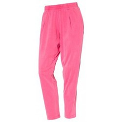 Clothing Women Trousers So Charlotte Pleats jersey Pant B00-424-00 Rose Pink