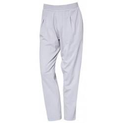Clothing Women Trousers So Charlotte Pleats jersey Pant B00-424-00 Gris Grey