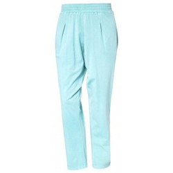 Clothing Women Trousers So Charlotte Pleats jersey Pant B00-424-00 Vert Green