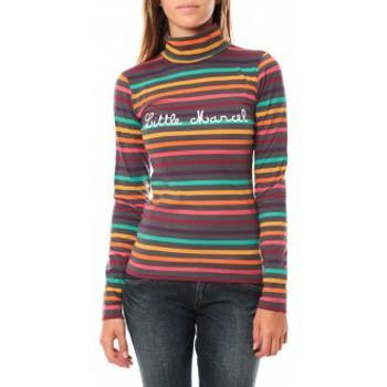 Clothing Women Long sleeved tee-shirts Little Marcel DUNKE 250 Grey