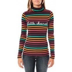 Clothing Women Long sleeved tee-shirts Little Marcel DUNKE 250 FN Black