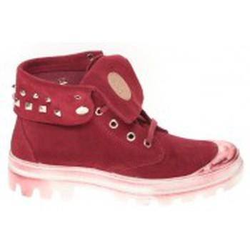 Shoes Women Hi top trainers Cassis Côte d'Azur Baskets Ginara Bordeaux Red