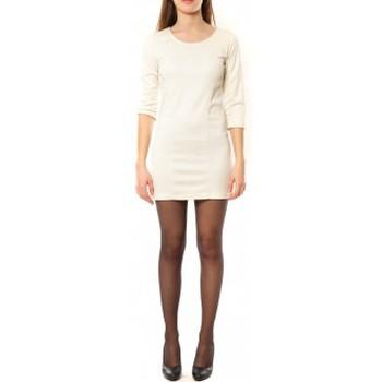 Clothing Women Short Dresses Dress Code Robe 125  Noemie Blanc White