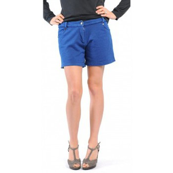 Clothing Women Shorts / Bermudas American Vintage SHORT KEY131 INDIGO Blue