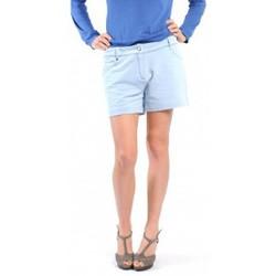 Clothing Women Shorts / Bermudas American Vintage SHORT KEY131 BLEU JEANS Blue