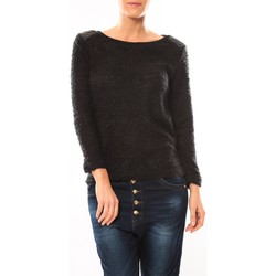Clothing Women Jumpers De Fil En Aiguille Pull 1422 Noir Black