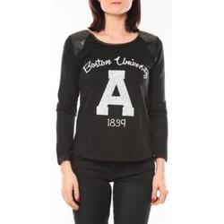 Clothing Women Jumpers De Fil En Aiguille Pull E1325 Noir Black