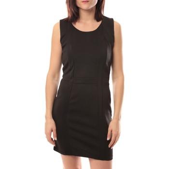 Clothing Women Short Dresses Dress Code Robe Wind V002 Noir Black