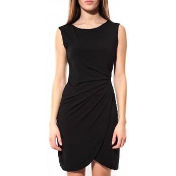 Clothing Women Short Dresses Dress Code Robe ANM Noir Black