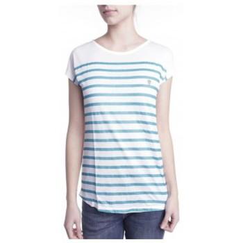 Clothing Women short-sleeved t-shirts Little Marcel T-shirt Doldi Bleu Turquoise Blue