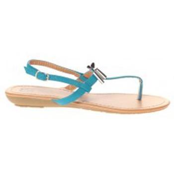 Shoes Women Sandals Cassis Côte d'Azur Sandales Tarik Bleu Blue
