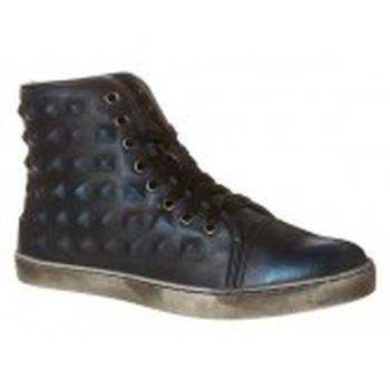 Shoes Women Hi top trainers Cassis Côte d'Azur Baskets Belonie Bleu Blue