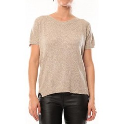 Clothing Women Short-sleeved t-shirts By La Vitrine T-Shirt S13010 Taupe Brown