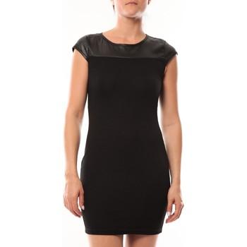 Clothing Women Short Dresses Dress Code Robe Love Look 319 Noir Black