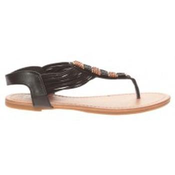 Shoes Women Flip flops Cassis Côte d'Azur Sandales Carlotta Noir Black