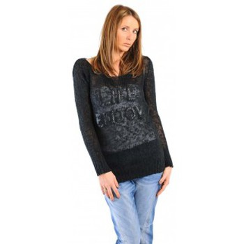 Clothing Women jumpers Dress Code PULL LIFE NOIR Black