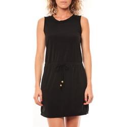 Clothing Women Short Dresses Vera & Lucy Robe Kapp Noir Black