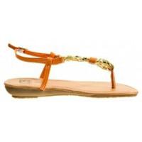 Shoes Women Flip flops Cassis Côte d'Azur Tongs Typie Orange Orange