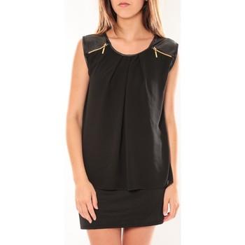 Clothing Women Short Dresses Dress Code Robe ANM Moda Noir Black