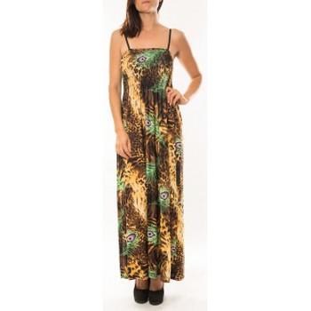 Clothing Women Dresses By La Vitrine Robe Huamei F723 Vert Green