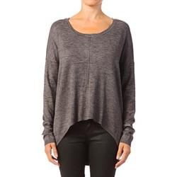 Clothing Women Tops / Blouses Vero Moda Glory Aura LS Zipper Blouse 10115665 Gris Grey