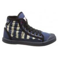 Shoes Women Hi top trainers Little Marcel Baskets Samba Up Stripes Bleu Blue