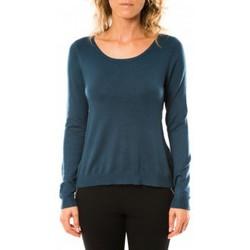 Clothing Women Jumpers Vero Moda Glory Eve LS Zipper Blouse 10114841 Marine Blue