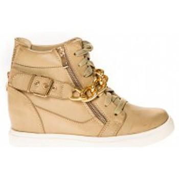 Shoes Women Hi top trainers Cassis Côte d'Azur Baskets Kabongo Beige Beige