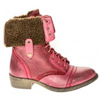 Shoes Women Ankle boots Cassis Côte d'Azur Bottines Arabella Bordeaux Red