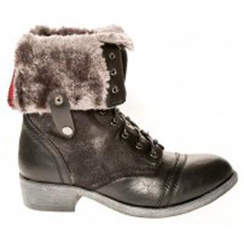 Shoes Women Ankle boots Cassis Côte d'Azur Bottines Arabella Noir Black