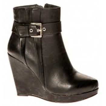 Shoes Women Ankle boots Cassis Côte d'Azur Bottines Alane Noir Black