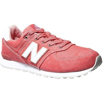 Shoes Children Running shoes New Balance GC574CE Pink